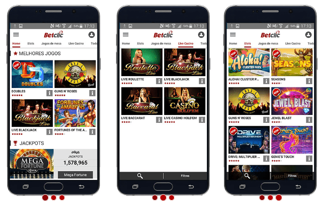 Betclic Mobile: Aposte no teu Telemóvel& Tablet